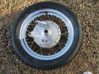 450 Rear Hub Chopper Custom Bobber on Harley Triumph Rim Wheel