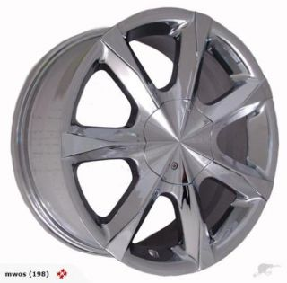 Chrome Detata Divine Single Replacement Wheel Rim 5 Lug 5x100 5x115