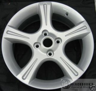 02 03 Nissan Sentra 17 Silver 5 Spoke Wheel Refinished Factory Rim