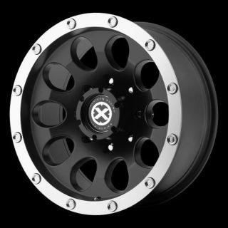 American Racing ATX AX18678060700 Slot Wheel 17 x 8 Black 6x5 5