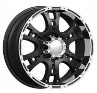 inch PW158 18x9 Rugget Dub Rims 5 6 8 Lug Wheels Tires Package