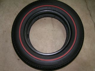 Genuine Michelin Red Line 185 15 Jaguar E Type XKE Triumph TR6