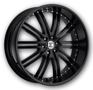 2CRAVE N11 22 Wheel Tire Package Black