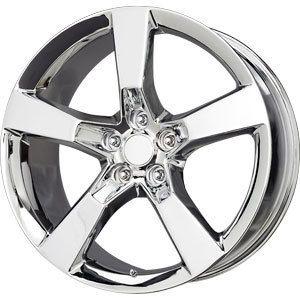 New 20x9 5x120 Replica Camaro SS Chrome Wheel Rim