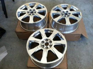 Used Cadillac SRX 20 Chrome Factory Rims 2012
