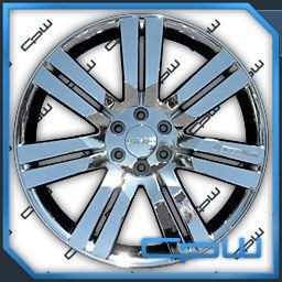 24 Rims GMC Chrome Wheels Chevrolet Cadillac Fit Silverado Tahoe