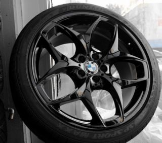 BMW x5 x6 Performance Dual Spoke 215 Rim Tire Set