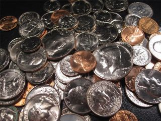100 BU Uncirculated Mixed Date and Mint Mark US Coin Lot Collection 11