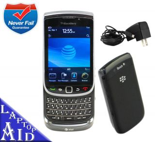 Unlocked Rim Blackberry Torch 4GB 9800 Black at T Great Smartphone