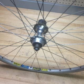 Bike Rear Wheel Shimano XT 7 8 Speed Hub with Mavic 217 Sup Rim