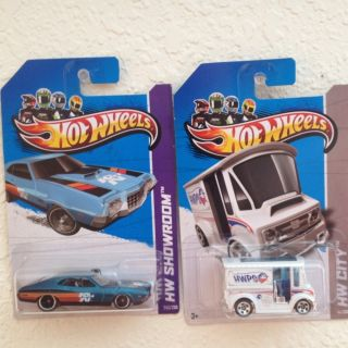 2013 Hot Wheels 72 Ford Gran Torino Sport Super Treasure Hunt TH BREAD