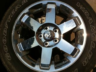 2009 2010 2011 Dodge RAM 1500 20 Chrome Aluminum Wheel