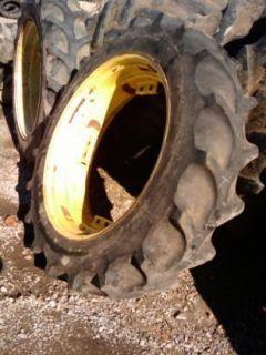 13.6x38, 13.6 38 FIRESTONE 6 ply A or B JOHN DEERE Tractor Tires w/rim