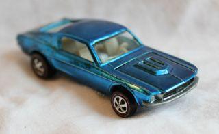 1968 Hot Wheels Custom Mustang Redline Must See