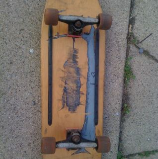 Skateboard?? Jim Thiebaud Indy Trucks OJ Vert Wheels 1991 Old School