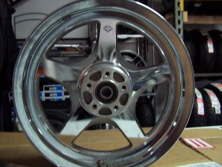 Harley Davidson Rear Rim Wheel 3 5 x 16