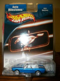 Hot Wheels Auto Milestones 1965 Mustang