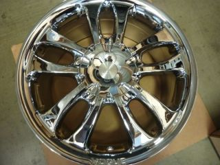 17x7 5 Vogue Sage II Cadillac Lincoln Wheel Rim Chrome