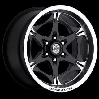 18x9 Lawless 6x5 5 Black One Single 12 Replacement Wheel Rim