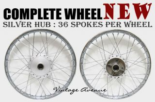Honda CT90 CT110 CT200 Front Rear Wheel Rim Hub Spoke F7S R4 1S
