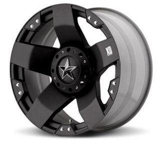 775 Rockstar Wheel Set 22x12 Black XD Rockstar Offroad Rims Set