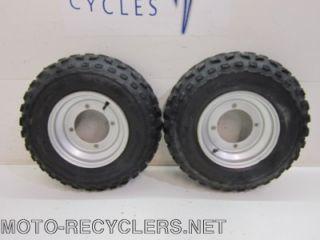 06 Blaster 200 Front Wheels Rims Tires 24