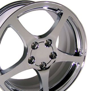 18 Corvette C5 Chrome Wheels Set of 4 Rims Fits Camaro SS