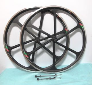 Mag Alloy Black 700c 8 9 Gear Road Bike Rims F R U C Brake Only