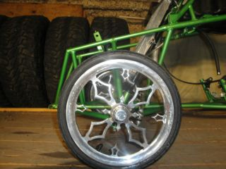 Spindle Mount Rims and Tires Jr Dragster Yamaha Banshee Asphalt