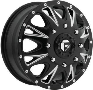 Fuel Throttle Dually Dualie Black Wheel Rim 8x210 2012 Sierra