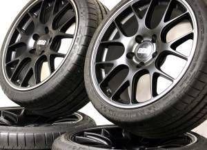Porsche 19 x 9 12 BBs CH R Wheels Michelin Tires Set
