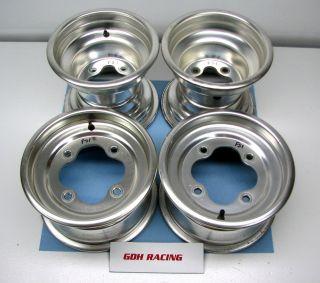 TRX 450R Complete Front Rear Rim Set 300EX 400EX FS1