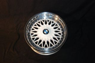 White BBs RC 8 9x17 BMW Styling 5 Rims Mirror Polished