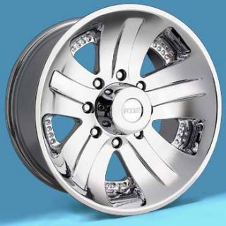 20x10 SPANK 8 lug 8x6 5 Chrome ONE Single 12 Replacement Wheel RIM
