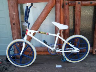 Vintage Motomag Mongoose with Mag 2 Rims Ashtabula Forks Old School