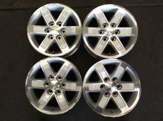 17 GMC Sierra 1500 Yukon Alum Alloy Wheels Rims OE
