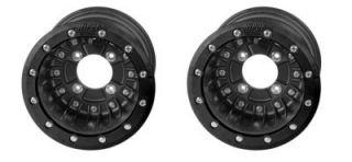 Hiper CF1A Rear Wheels Rims Yamaha YFZ450 YFZ 450R 9x8
