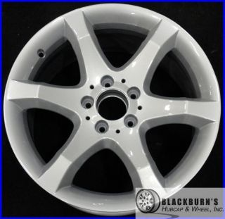 07 Mercedes C230 C350 17 Silver 6 Spoke Rear Wheel Factory Rim 65437