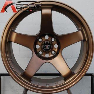 Rota P 45R 18x9 5 5x114 3 ET30 Sport Bronze Wheels