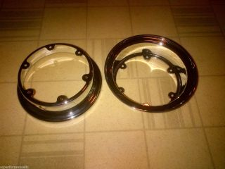 Rupp Turbine Wheels Turbine Rims Vintage Mini Bike Minibike Go Kart