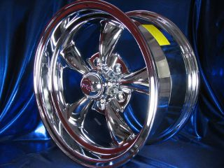 15x7 15x8 CHROME REV CLASSIC 100 WHEELS CHEVY CAMARO 1977 1978 1979