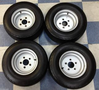 Golf Cart Wheels Tires 5 x 4 5 Lug Pattern 10 Wheel w 20 5x8 0x10