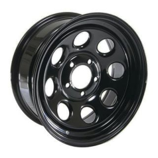 Cragar Soft 8 Black Steel Wheels 16x7 5x4 5 Set of 4