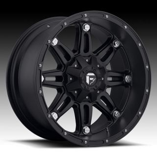 18 Wheels Rims Fuel Off Road Hostage Black with 37x13 50x18 Toyo Open