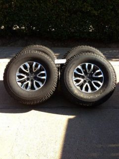 2012 Ford F150 SVT Raptor Wheels Tires LT315 70R17 BF Goodrich 2500