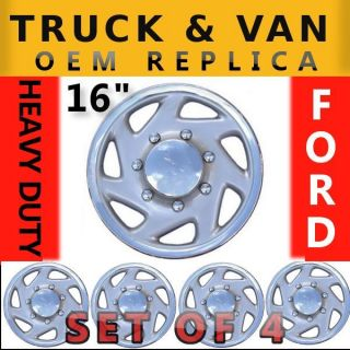 Pickup F150 F250 16 Hubcaps Rim Wheel Covers Hub Cap Set K317
