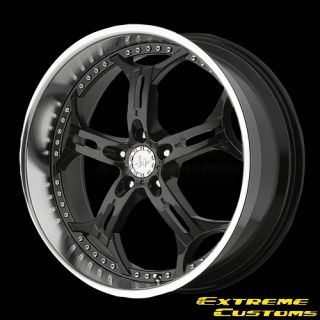 x8 Helo HE834 Gloss Black Machined 5 Lugs One Single Wheel Rim