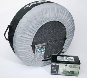 BMW Tire Totes Carrier Bag Wheel Felt Rim Protection