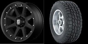 20 inch Wheels Rims Tires Black Chevy GMC Tahoe Yukon Suburban