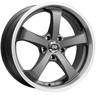 17 Enkei Falcon Gunmetal Rims Wheels Lexus IS250 IS300